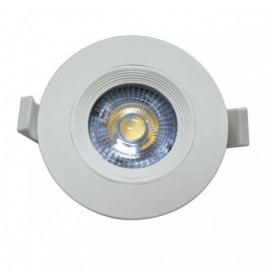 LED bodovka JIMMY-R FIXED 9cm, 7W, 500lm, 4000K, IP20