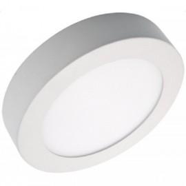 LED panel přisazený FENIX-R 12cm, 6W, 2800K, bílá