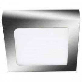 LED panel FENIX-S chrom 17x17cm, 12W, 850lm, 2800K, IP20