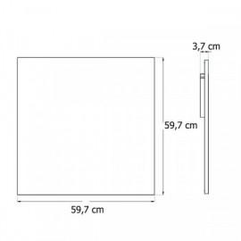 Termostat univerzální programovatelný - kryt ABB, 3292M-A10301 36