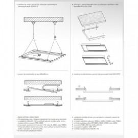 Termostat univerzální programovatelný - kryt ABB, 3292M-A10301 37