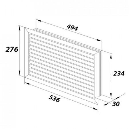 Zásuvka jednonásobná, s ochranou před přepětím ABB, 5598G-A02349 S1