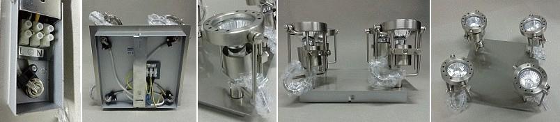 Bodové osvětlení svítidlo SONDA EL-4L halogenové 4x50W
