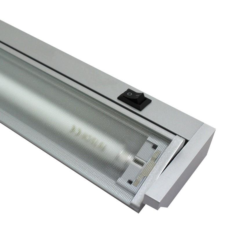Zářivka pod linku 60cm GANYS TL2016-13, stříbrná