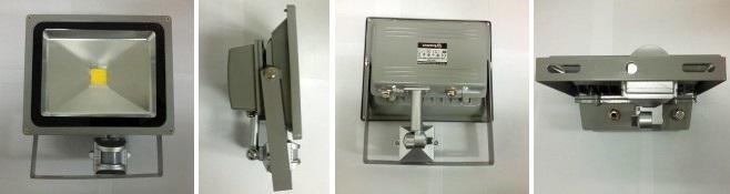 LED reflektor SMD s čidlem 30W RLEDF02-30W