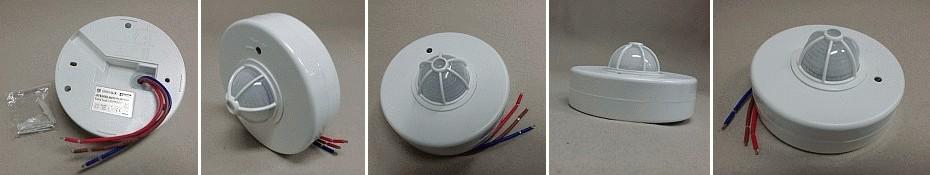 Pohybové čidlo stropní Greenlux Sensor 20 - 3xPIR