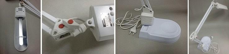 Stolní lampa ADEPT L50164-BI bílá