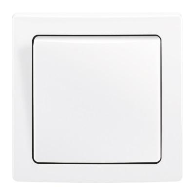 Bílý rámeček ABB Swing L
