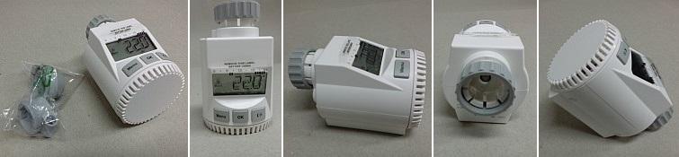 Termostatická hlavice FK3030C - digitální programovatelná