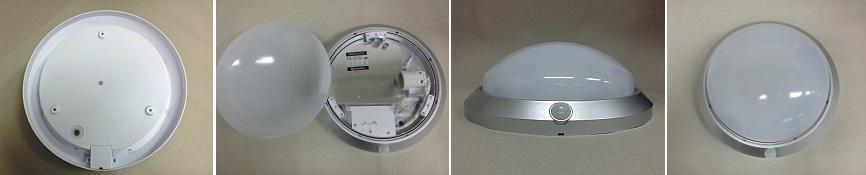 Venkovní svítidlo s čidlem W121-STR FLAVIA - stříbrné