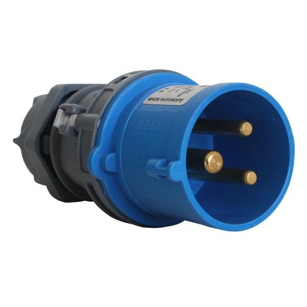Vidlice 230V/16A 3 kolík VI 163 IP44