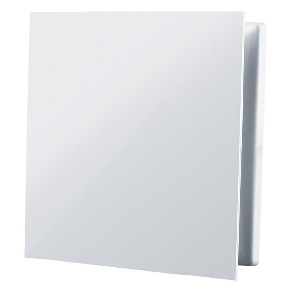 Bílá větrací mřížka GP 100 FLAT WHITE