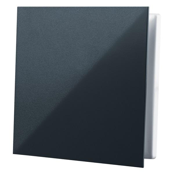 Černá větrací mřížka GP 100 FLAT BLACK