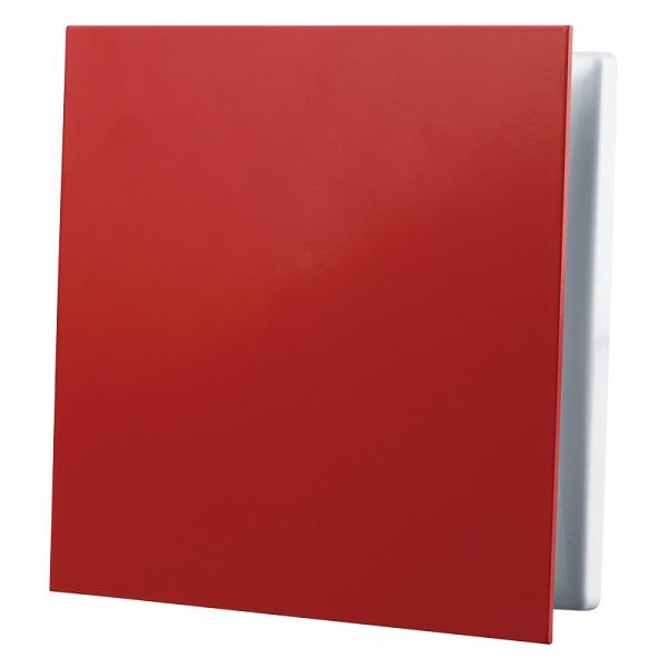 Červená větrací mřížka GP 100 FLAT RED