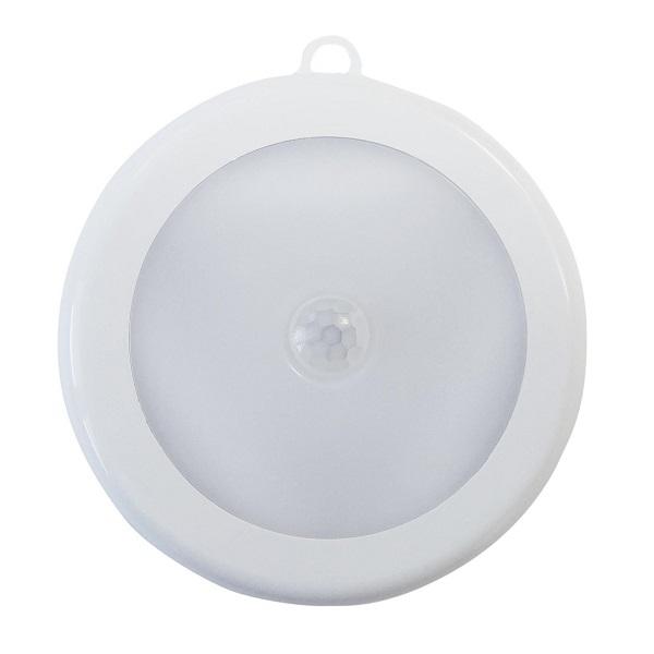 LED noční světlo na baterie GXLS236 s pohybovým čidlem, kruhové