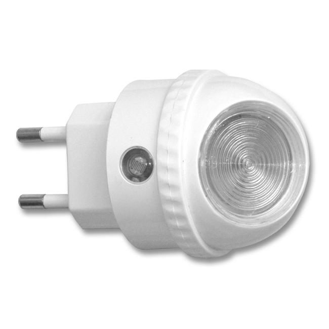 LED noční světlo do zásuvky XLED-NL/BI se soumrakovým senzorem