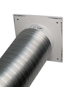 Použití s flexi kovovým potrubím