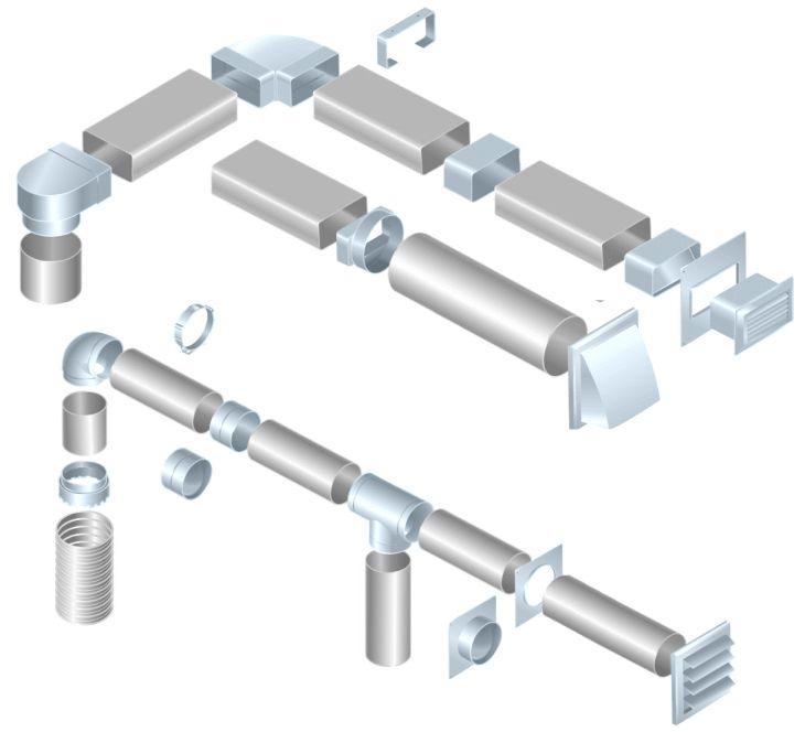 Ukázky využití plastového vzt potrubí