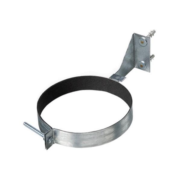 Kovová upevňovací svorka Dalap MCGH s tlumící gumou a držákem