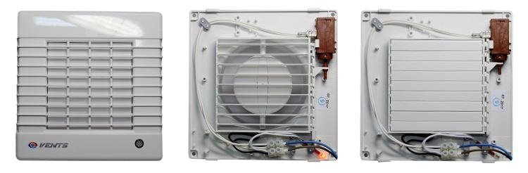 Ventilátor do koupelny s automatickou žaluzií