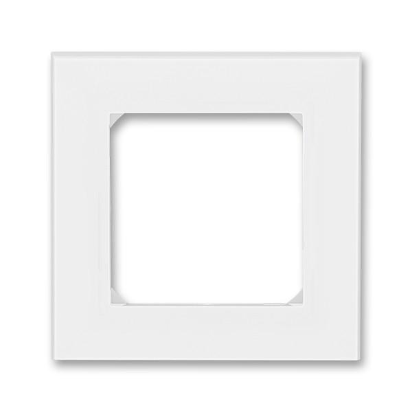 Rámeček ABB LEVIT 3901H-A05010 01 jednonásobný, bílá / ledová bílá