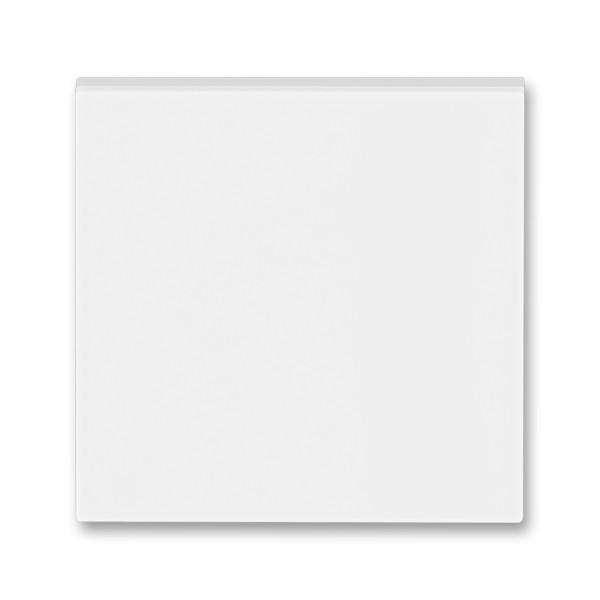 Kryt vypínače ABB LEVIT 3559H-A00651 01 bílá / ledová bílá