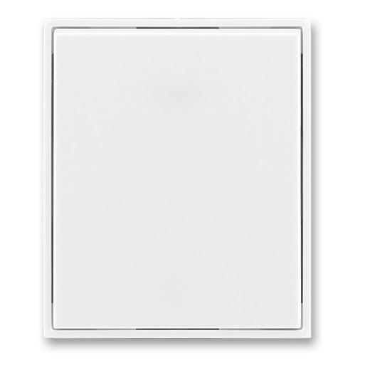 Kryt vypínače ABB TIME 3558E-A00651 03 bílá/bílá